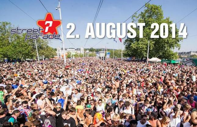 Street Parade 2014 in Zürich – We are ready!