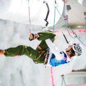 Ice Climbing World Cup Rabenstein/Corvara