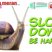 Slow down. Be happy!