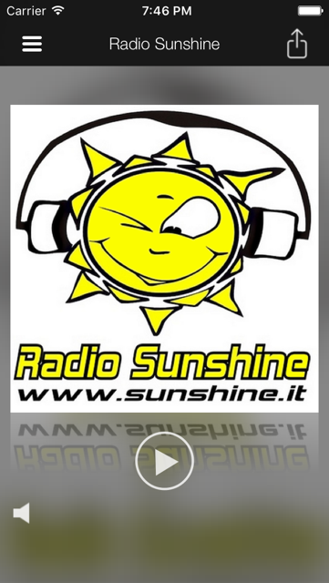 Radio Sunshine iPhone, iPad & Windows App