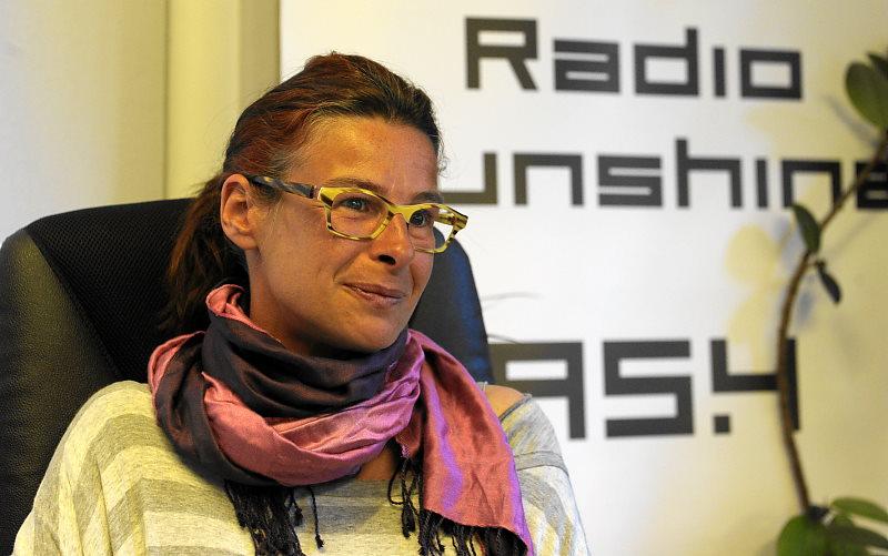 Christine Kompatscher,Trainerin bei Agility Lana