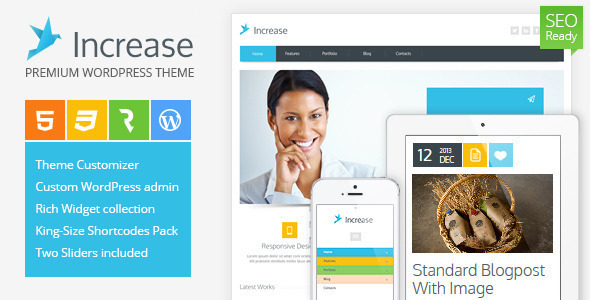 preview increase_wordpress_Themes