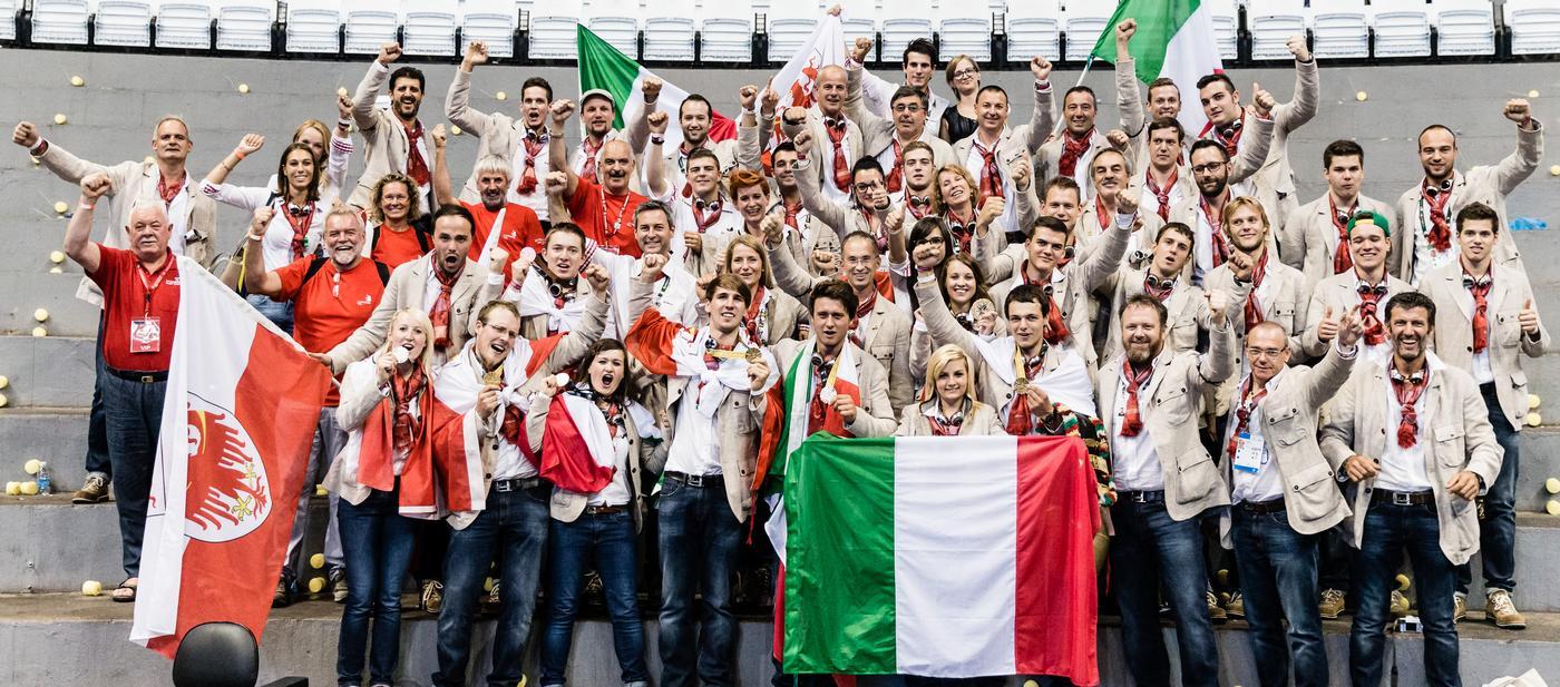 WorldSkills-Team Italy und seine Gewinner