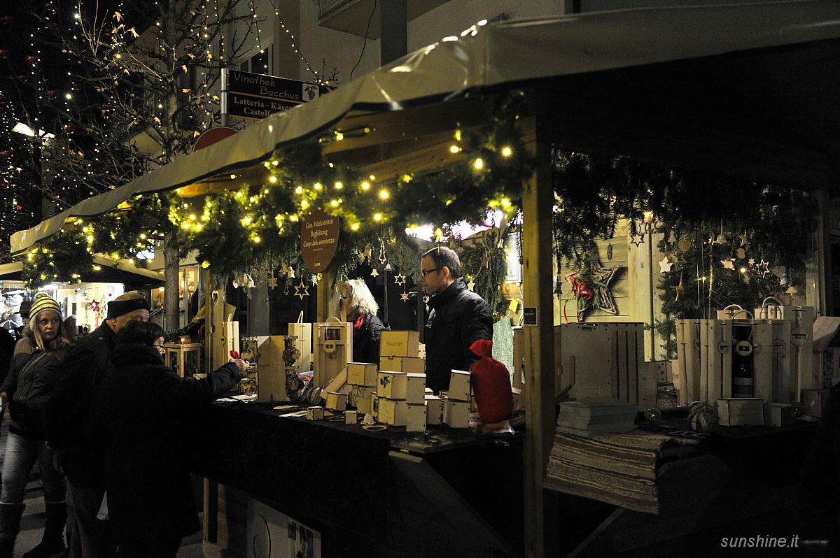 Weihnachtsmarkt Sterntaler 2015 in Lana