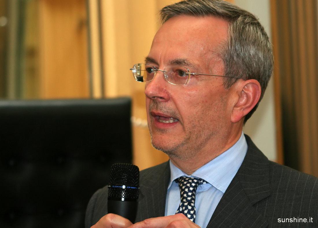 Handelskammerpraesident Michl Ebner