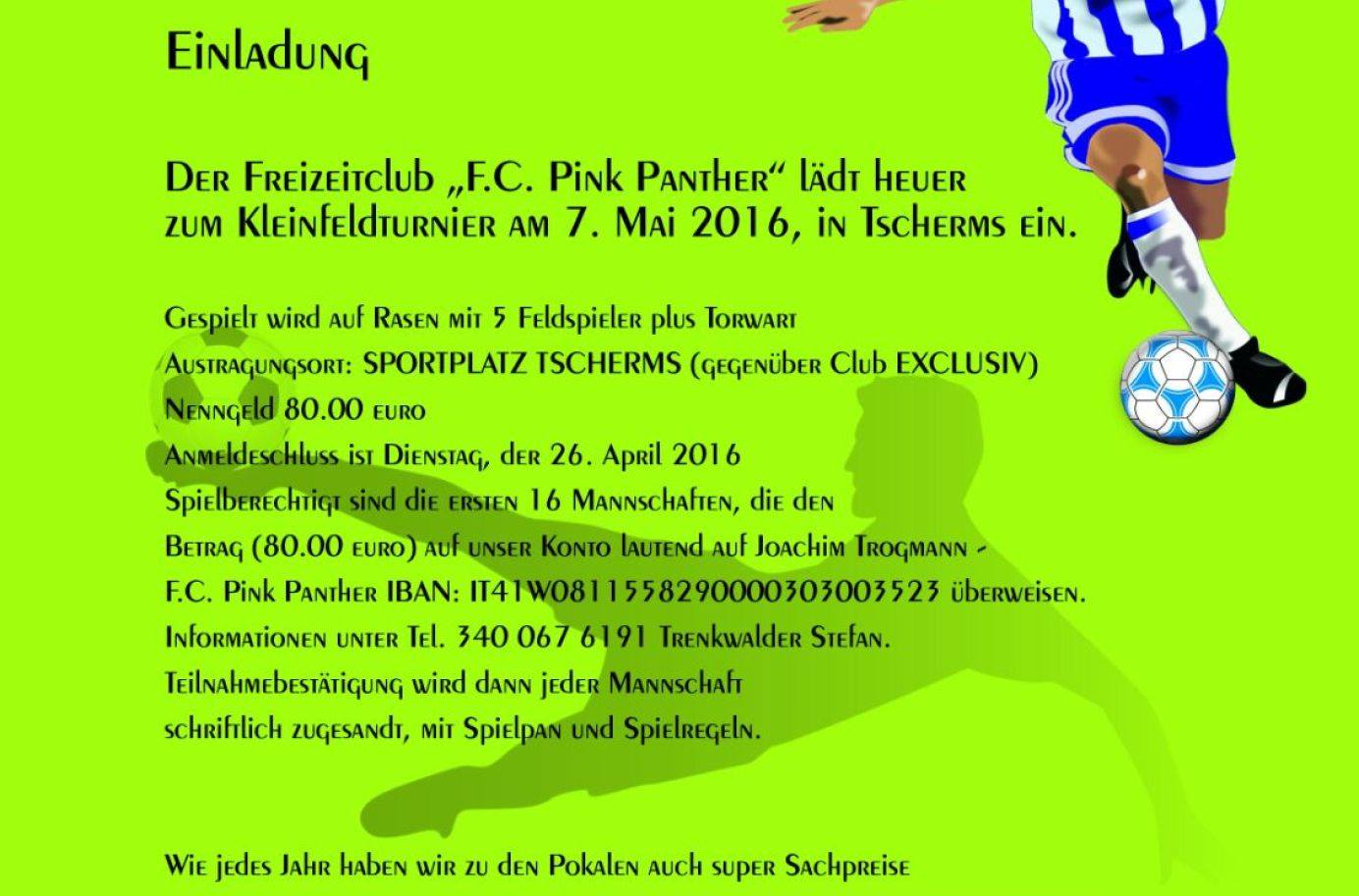 FC Pink Panther Tscherms