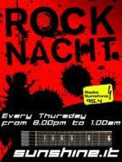 Die Rocknacht auf Radio Sunshine immer donnerstags ab 20 Uhr