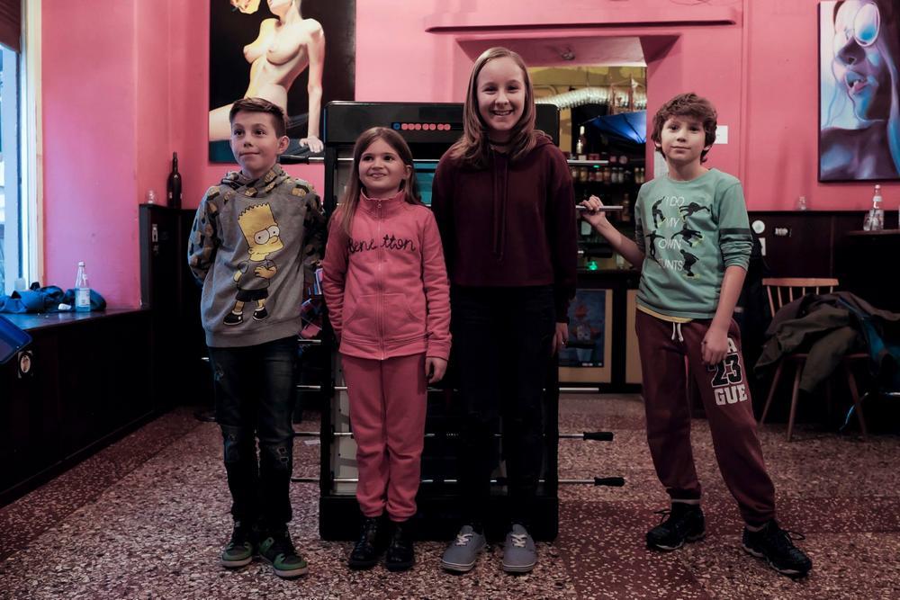 Foto Catello Nigro con i finalisti