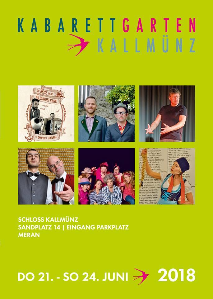 Kabarettgarten Kallmuenz 2018