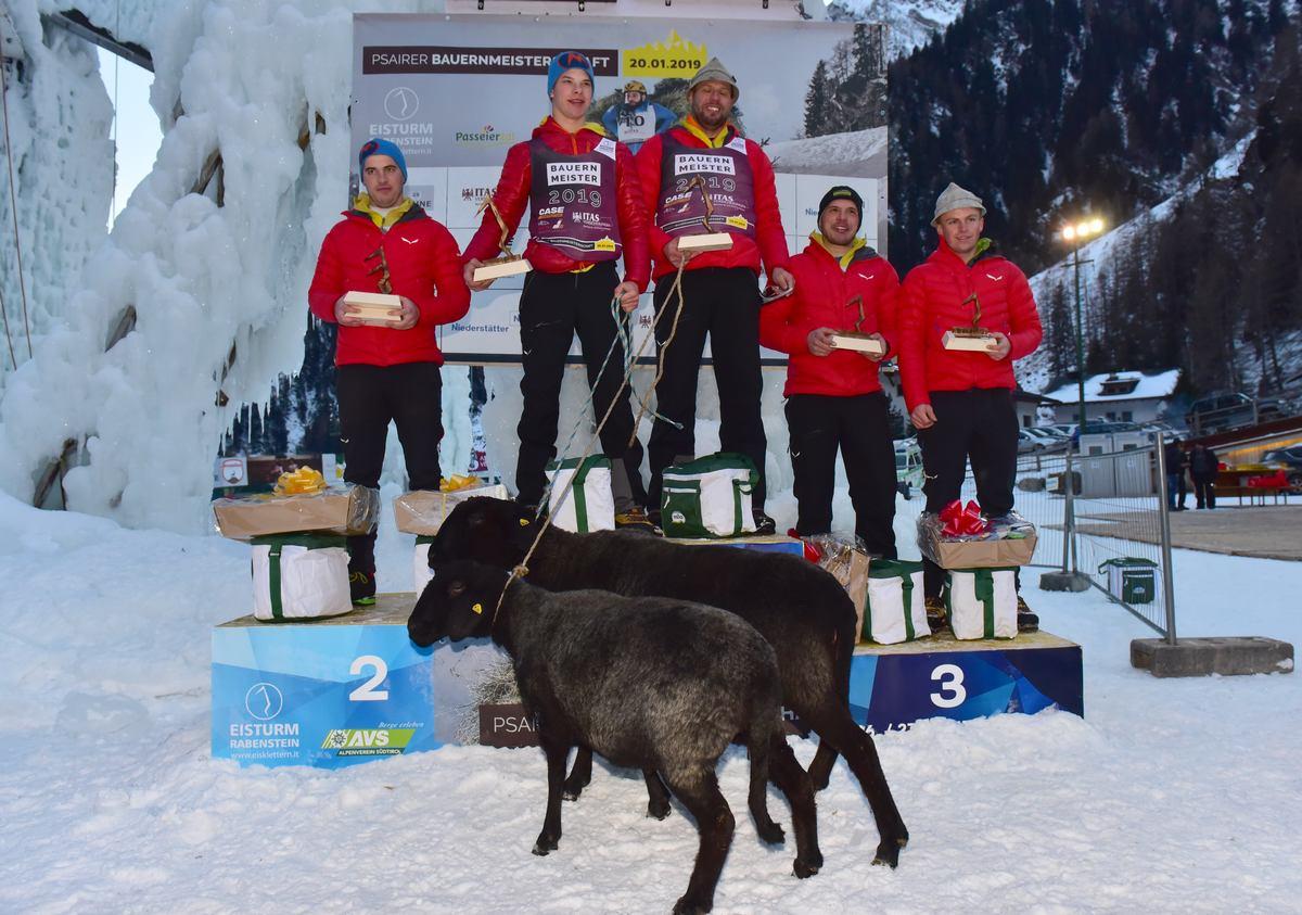 Psairer Bauernmeisterschaft: Erfolgreiche Titelverteidigung für das Duo Graf/Pfitscher