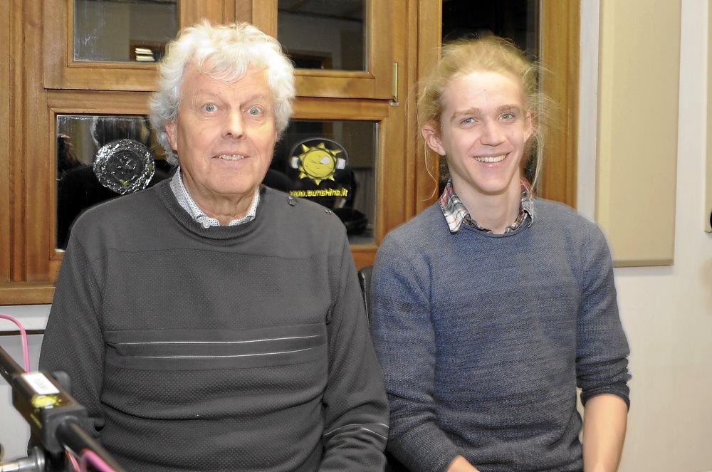Bertrand Huber und Laurin Wenter