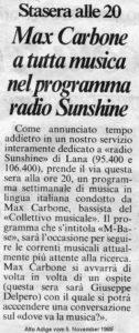 Alto Adige 05.11.1989