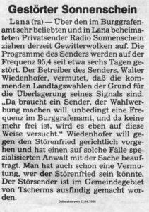 Dolomiten 22.04.1988
