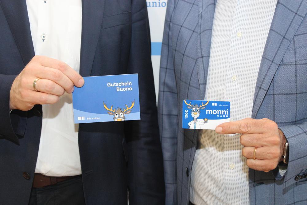 Die landesweite Gutscheinkarte monni card