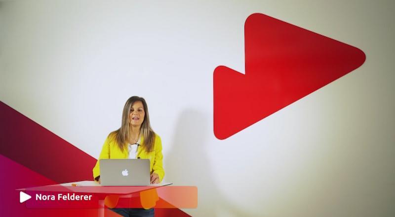 Nora Felderer moderiert deutsches programm