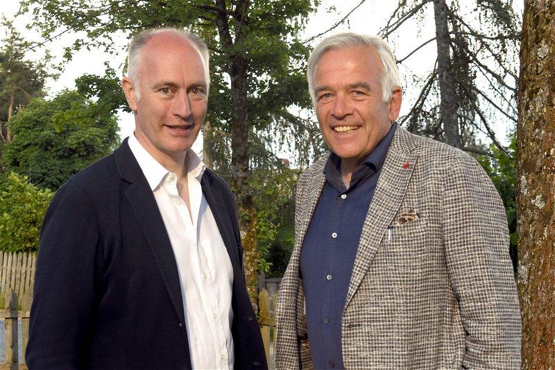 Harald Mengin und Heiner Oberrauch