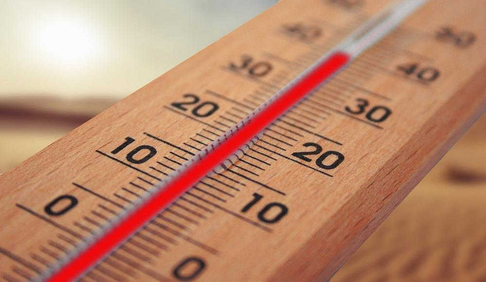thermometer hitze sommer