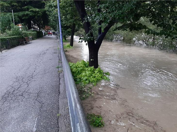 Hochwasser in Klausen