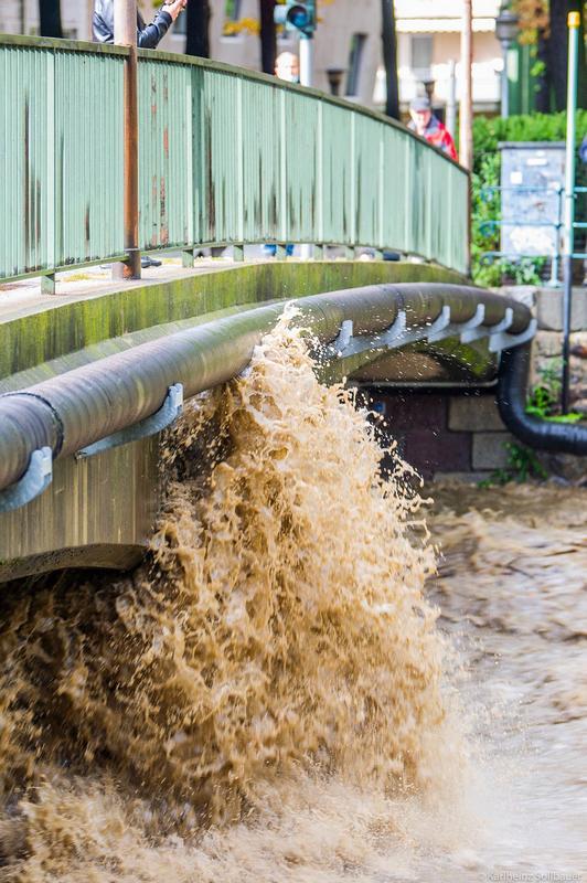 Hochwasser Passer Meran 4