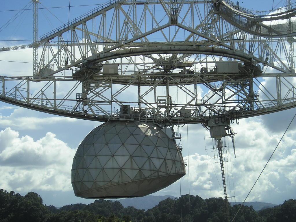 Arecibo Observatory Aerial