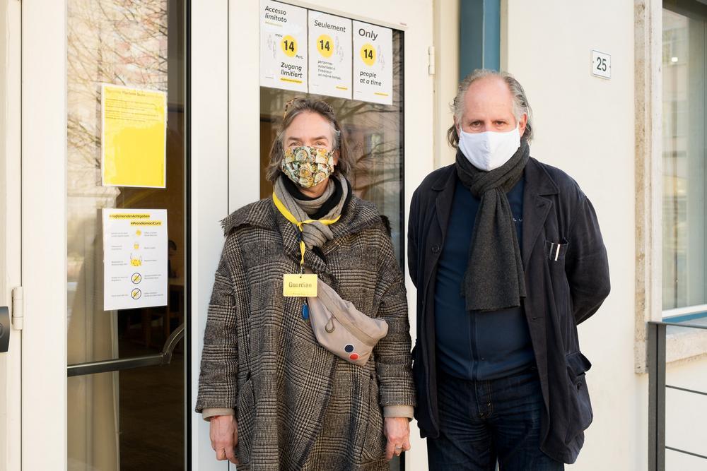 Fotocredit LudwigThalheimer Caroline von Hohenbuuehel und Ludwig Thalheimer