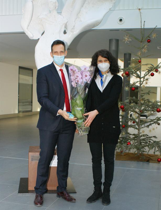 Luca Armanaschi und Marta del Claudio