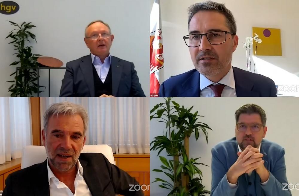 PM HGV fuehrte Online Meeting mit Mitgliedern durch