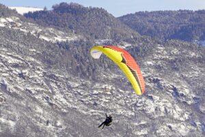 Paragleiter Landungen Lana022