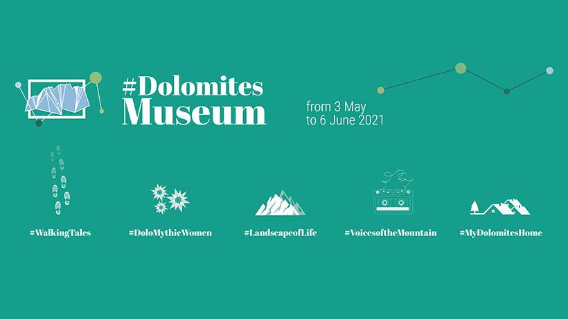 5 Hashtags, die das Erbe der Dolomiten erzählen: die Kampagne #dolomitesmuseum geht in die zweite Runde
