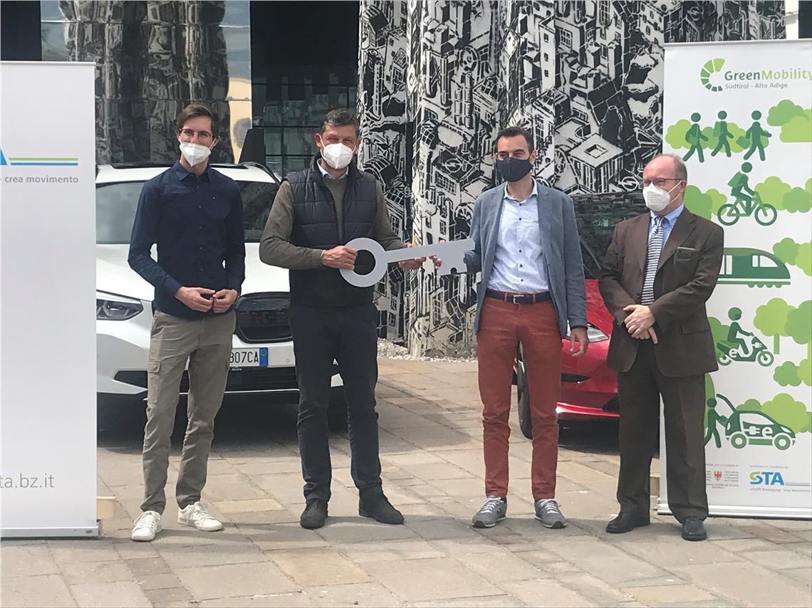 eTestDays: 84 Südtiroler Betriebe fahren im Mai elektrisch