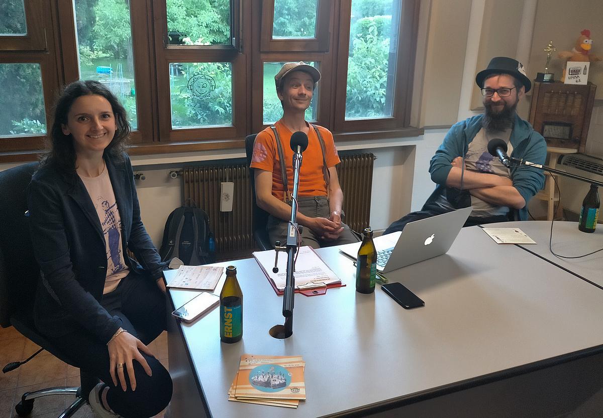Sandy Kirchlechner, Jordi Beltramo und Markus Steiner Ender